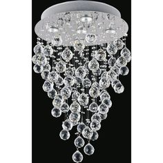 A gorgeous design from CWI Lighting. This breathtaking Rain Drop Chrome Flushmount is a beautiful piece from our Rain Drop Collection. With its sophisticated beauty and stunning details, it is sure to add the perfect touch to your decor. Bubble Chandelier, Shape Coding, Light Bulb Bases, Flush Mount Lighting, Lighting Store, Chrome Finish, Ceiling Lights, Stainless Steel, Touch