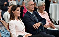 Princess Marie opened the Wadden Sea Festival as their patron at the Lighthouse…