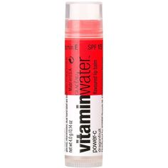 Vitaminwater Single Balm (8.50 CAD) ❤ liked on Polyvore featuring beauty products, skincare, lip care, lip treatments, makeup, beauty, fillers, lips, cosmetics and dragonfruit
