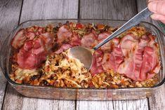 Macaroni kaasovenschotel met gehakt, paprika en prei - De keuken van Ursie