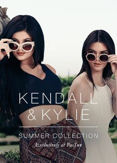 Image via We Heart It #pacsun #kendalljenner #kyliejenner #summercollection #jennersisters #kylie&kendall