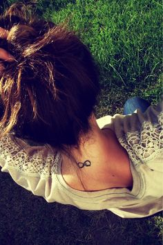 small tattoo | I know it's not a fairy, but I think this is pretty (infinity symbol with the word love)
