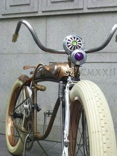 Steampunk bicycle