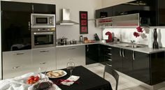 Kitchen Styling, Color Negra, Kitchen Remodel, House Plans, Kitchen Cabinets, Home Decor, Kitchens, Style, Ideas