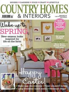 Country Homes & Interiors Go to issuu & you can read through the magazine.  I'm looking up to see how $ it is to get it here in US.    mk