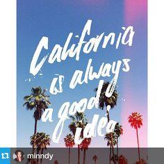Instagram: 'California' by @minndy