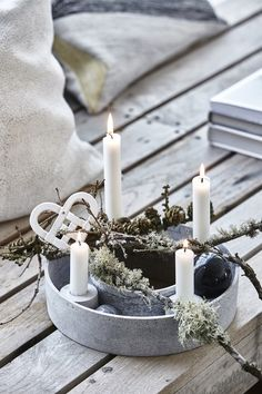 Rustic Ring Candle stand April and the Bear