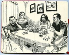 Evening at Dave and Barbara's by paul heaston, via Flickr