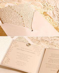 Wedding Invitation Loto - Ensueños Collection.