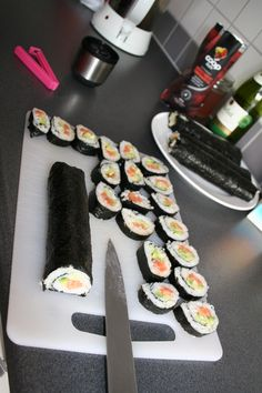 ok. sushi is so popular today.  but I really like sushi!