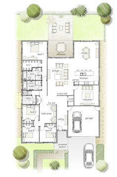 This is pretty much perfect. floor plan