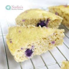 Ripped Recipes - Blueberry Protein Cake - A delicious high protein, moist cake with only 114 calories per slice!
