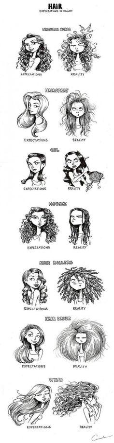 Hair - Expectations vs Reality
