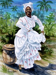 Choose your favorite caribbean dance paintings from millions of available designs. All caribbean dance paintings ship within 48 hours and include a money-back guarantee. Orisha, African American Art, African Art, Art Afro Au Naturel, Art Magique, Puerto Rico History, Puerto Rican Culture, Cuban Art, Caribbean Art