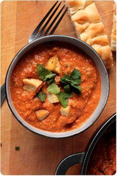 Shimmy Shimmy! Indische Tomaten-Cashew-Creme aka Shahi Paneer