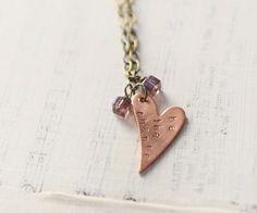 5 DIY Tutorials for Custom Metal Stamped Jewelry