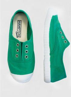 Green Plum Canvas Shoes (24-43)