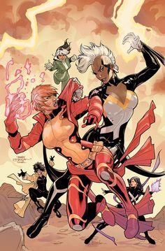 X-Men #5 Variant Cover Color by TerryDodson.deviantart.com on @deviantART