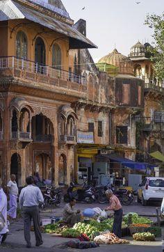 Street Market - Jaipur, India