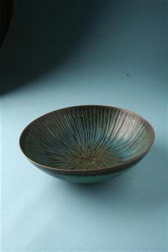 Bowl, designed by Stig Lindberg for Gustavsberg