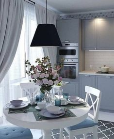 Kitchen, Table, Furniture, City, Home Decor, Cooking, Decoration Home, Room Decor, Kitchens