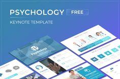 Psychology Free Keynote Presentation Template Free Powerpoint Presentations, Powerpoint Presentation Templates, Free Keynote Template, Photo Report, Save Yourself, Psychology, Google, Psicologia