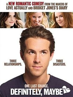 Rachel Weisz, Ryan Reynolds, Elizabeth Banks, and Isla Fisher in Definitely, Maybe Isla Fisher, Bridget Jones, Elizabeth Banks, Rachel Weisz, Ryan Reynolds, Definitely Maybe, Romantic Comedy Movies, Romance Movies, Drama Movies