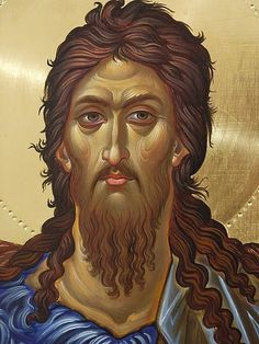 St John the Baptist Orthodox Icons, Hagiography, Portrait Drawing, Byzantine Art, Image, Christian Art, Portrait, Sacred Art, St John