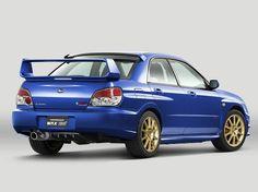 Subaru Impreza WRX STi (2005 – 2007).