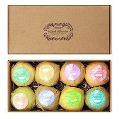 Innoo Tech 8 Bath Bombs Set ** You can find out more details at the link of the image.Note:It is affiliate link to Amazon.