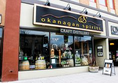Getting Local and Loving it at Okanagan Spirits Craft Distillery