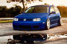 Volkswagen Golf Mk4 GTI Car Poster