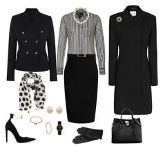 """Office Attire"" by pkoff ❤ liked on Polyvore featuring Joseph, Marc O'Polo, Roland Mouret, Temperley London, Zara, Reiss, Michael Kors, ILI, Pearls Before Swine and Links of London"