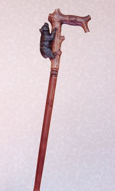 Bear walking cane Hand carved handle and simple staff Hiking stick Wooden cane Grizzly wood cane Handmade walking sticks canes from Ukraine Handmade Walking Sticks, Walking Sticks And Canes, Wooden Walking Sticks, Walking Canes, Cane Handles, Wooden Canes, Cane Stick, Wood Sculpture, Handmade Wooden