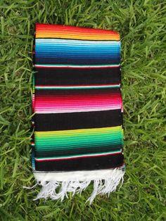 Sarape-Serape-Mexican-Blanket-Saltillo-Southwest-Throw