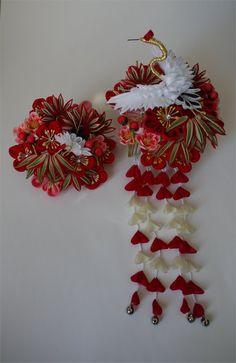 Wedding ~ ~ Edo knob ornamental hairpin of the sun