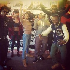 Black Ink Crew | 10 jan 13 black ink crew rocking sabit for their vh1 shooting by ...