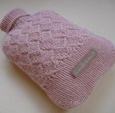 Beautiful hot water bottle cover