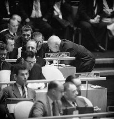 Josip Broz Tito and Khruschev