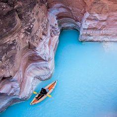 Grand Canyon, Arizona, to Moab, Utah.