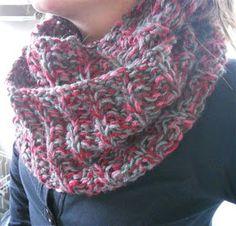 Breien MET haken en ogen: Patroon voor een ronde sjaal 4
