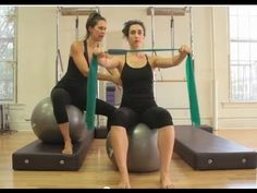Pilates: Thera Band Arms - Women's Fitness