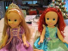 Is your Rapunzel Doll...TANGLED? How to detangle doll hair! - Someone knows all too well....LOL!