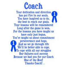 Coach39 on pinterest coach gifts volleyball and cheer baseball coach thank you card google search expocarfo