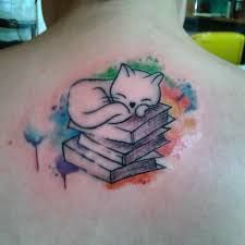 Résultats de recherche d'images pour «watercolor tattoo cat»