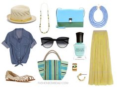 Summer 2014 Style Inspiration: What To Wear To A Company Picnic - The Fashion Bomb Blog : Celebrity Fashion, Fashion News, What To Wear, Runway Show Reviews