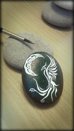 "Stone phoenix a la ""Celtic style"""