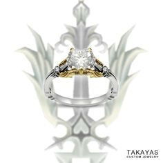 A KINGDOM HEARTS RING?!  I NEED IT!!! Need to hit the lottery lol, but seriously this is awesome!