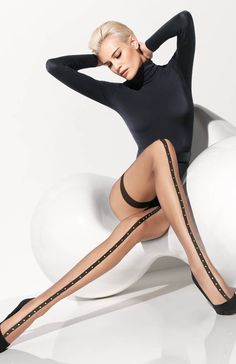 Wolford Roxette Tights 18968 - Wolford Hosiery