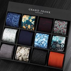 Welcome to Grand Frank! Here you'll find shirts, suits, ties, watches and much more. Shirt Tie Combo, Business Diary, Gift Box For Men, Thick Girl Fashion, Lapel Flower, Stylish Mens Outfits, Tie Accessories, Tie Styles, Suit And Tie